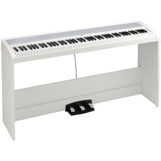 Korg B2SP White - Pianoforte Digitale Bianco 88 Tasti con Stand04