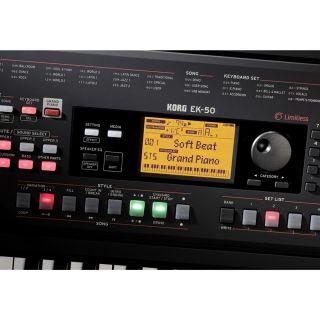 Korg EK-50 L Tastiera Arranger Entry Level 61 Tasti Nera