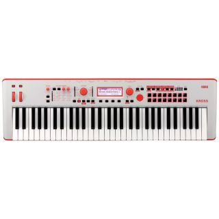Korg Kross 2 61 Grey Red - Sintetizzatore Workstation 61 Tasti