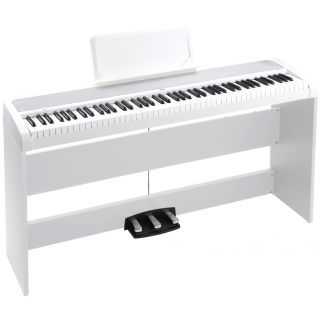 Korg B1 SP White - Pianoforte + Stand + Pedale