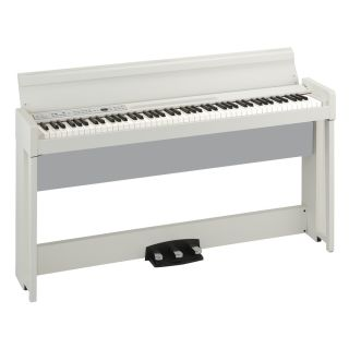 KORG C1 AIR WHITE - Pianoforte Digitale Bianco_angle