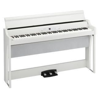 KORG G1 AIR WHITE - Pianoforte Digitale Bianco_angle