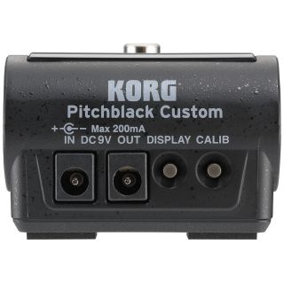 Korg Pitchblack Custom black rear