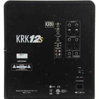 2-KRK 12s - SUBWOOFER ATTIV