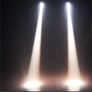 SOUNDSATION MBL-3W-WHITE - Faretto Mini Beam 3W Bianco_effect