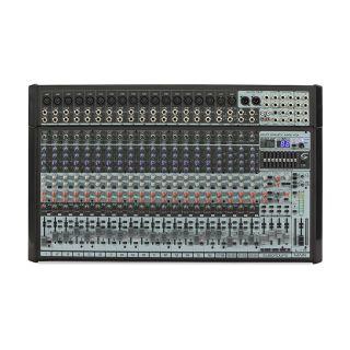 1 SOUNDSATION - Mixer Professionale a 24 canali di alta qualità con processore effetti Ambient Pro® e scheda audio USB I/O