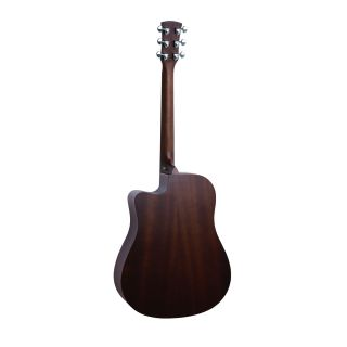 1 SOUNDSATION - Chitarra acustica Dreadnought cutaway elettrificata con finitura open pore satinata