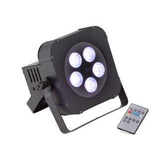 SOUNDSATION - PAR LED 5x18W RGBWA+UV 6in1 a batteria 1