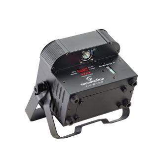 1 SOUNDSATION - PAR LED 5x18W SOUNDSATION - PAR LED 5x18W RGBWA+UV 6in1 a batteria 1RGBWA+UV 6in1 a batteria 2