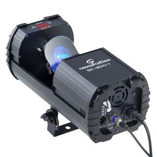 1 SOUNDSATION - Scanner 30W LED COB RGB con 9+1 gobos