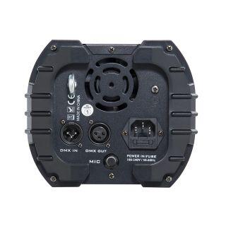2 SOUNDSATION - Scanner 30W LED COB RGB con 9+1 gobos
