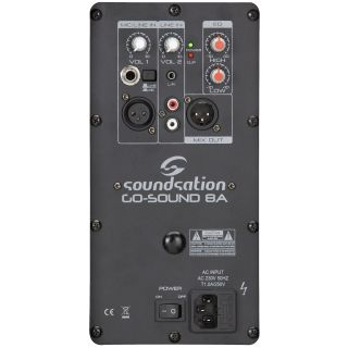 SOUNDSATION GO-SOUND 8A - Diffusore Attivo 2 Vie 320W_back