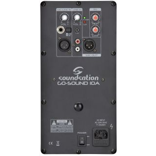 SOUNDSATION GO-SOUND 10A - Diffusore Attivo 2 Vie 450W_back