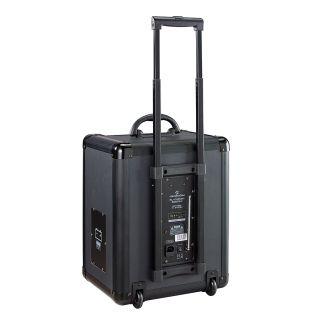 2 SOUNDSATION - Sistema PA a Batteria con Trolley, Radiomicrofono UHF, Bluetooth™, Lettore MP3 E Reverbero