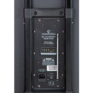 3 SOUNDSATION - Sistema PA a Batteria con Trolley, Radiomicrofono UHF, Bluetooth™, Lettore MP3 E Reverbero