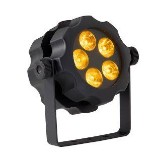 2 SOUNDSATION - PAR CAN Flat per Uso Esterno 5x18W RGBWA+UV 6in1
