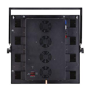 1 SOUNDSATION - Set composto da 4 accecatori 16x30W RGB COB slim modulari con Flight case