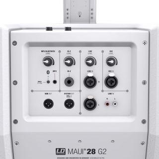 LD Systems MAUI 28 G2 Bianco (Coppia) con Borse07