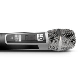 LD Systems U505 HHC 2 - Radiomicrofono Doppio Palmare05
