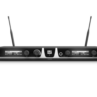 LD Systems U505 HHD 2 - Radiomicrofono Doppio UHF02