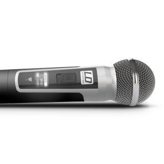 LD Systems U505 HHD 2 - Radiomicrofono Doppio UHF04