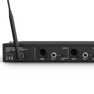 LD Systems U505 HHD 2 - Radiomicrofono Doppio UHF10