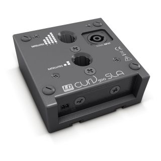 2 LD Systems CURV 500 SLA - Adattatore SmartLink per un massimo di quattro satelliti CURV 500®, nero