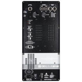 """3 LD Systems DDQ SUB 212 - 2 x subwoofer PA da 12"""" attivo con DSP"""