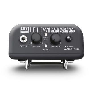 4 LD Systems HPA 1 - Amplificatore per cuffie e IEM a cavo