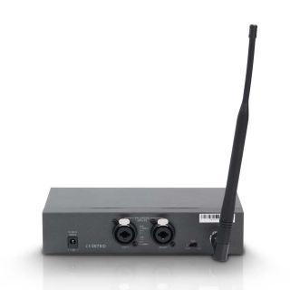 1 LD Systems MEI 1000 G2 BUNDLE - Sistema di monitoraggio in-ear senza fili con 2 x trasmettitore da cintura e 2 x cuffie in-ear
