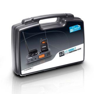 6 LD Systems MEI 1000 G2 BUNDLE - Sistema di monitoraggio in-ear senza fili con 2 x trasmettitore da cintura e 2 x cuffie in-ear