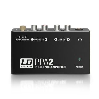0 LD Systems PPA 2 - Preamplificatore phono ed equalizzatore