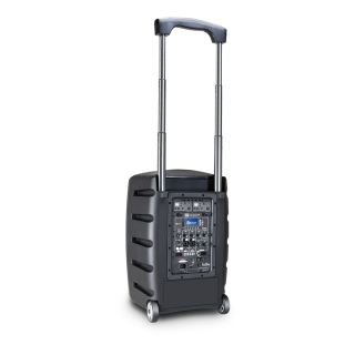1 LD Systems ROADBUDDY 10 HHD 2 B5 - Battery-Powered Bluetooth Speaker with Mixer and 2 Wireless Microphones