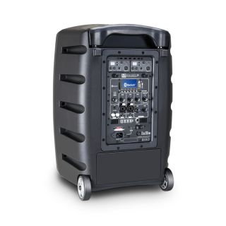 3 LD Systems ROADBUDDY 10 HHD 2 B5 - Battery-Powered Bluetooth Speaker with Mixer and 2 Wireless Microphones