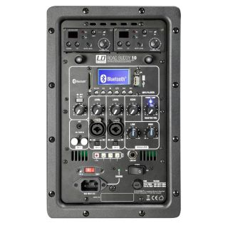 4 LD Systems ROADBUDDY 10 HHD 2 B5 - Battery-Powered Bluetooth Speaker with Mixer and 2 Wireless Microphones
