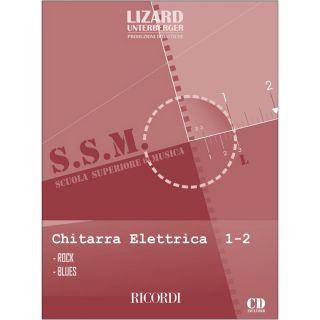 1 Lizard Ricordi Chitarra Elettrica Rock e Blues Vol. 1-2