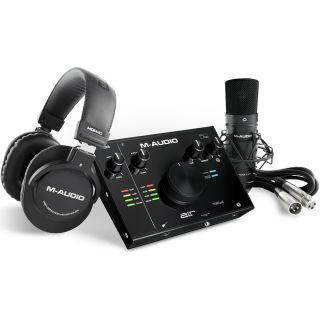 1 M-Audio AIR 192 4 Vocal Studio Pro Interfaccia Audio, Microfono e Cuffie
