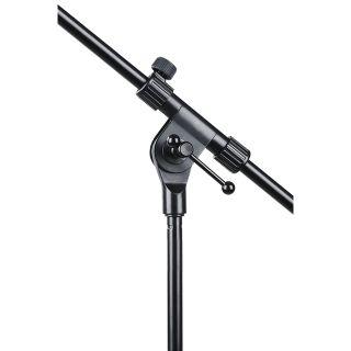 1 SOUNDSATION - Asta microfonica a giraffa telescopica con base tripode