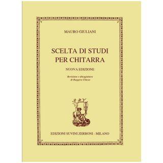 1 M. Giuliani Ed. Zerboni Scelta Di Studi Per Chitarra Spartito