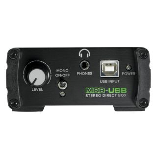 Mackie MDB USB - DI Box Stereo03