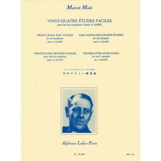 1 Marcel Mule Leduc Vingt-quatre Etudes Faciles per Sassofono