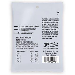 Martin & Co MA175 - Muta per Acustica 0.11/0.5202