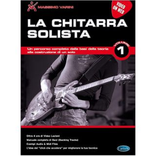 1 Massimo Varini Edition Carisch Chitarra Solista 1 Libro + Video-online