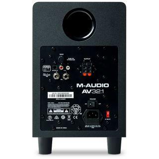 M-Audio av32.1 sub rear