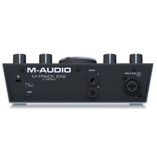 M-audio m-track 2x2 rear