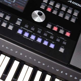 1 MEDELI A1000 - Tastiera Arranger Workstation A 61 Tasti Con Sensibiltà Al Tocco.