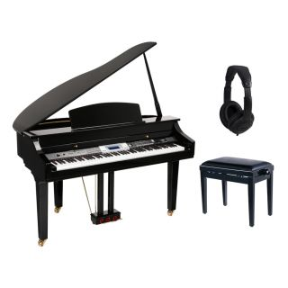 Medeli Grand 500 Set - Pianoforte Digitale Codino / Panchetta / Cuffie