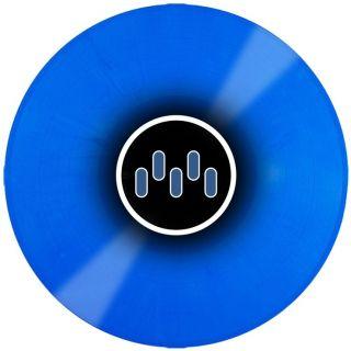 mixars Timecode Vinyl blue back