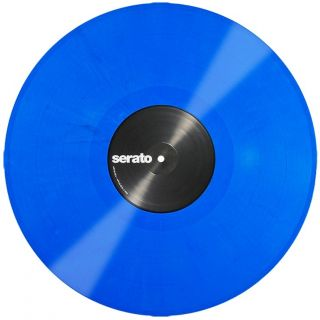 mixars Timecode Vinyl blue front