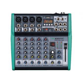 ZZIPP ZZMXBTE6 - Mixer Compatto 6 Canali